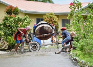 Using A Concrete Mixer at home