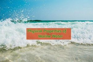 Physical Properties of marine water