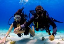 Scub Diving in Bali
