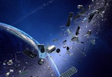 Piece of Space Junk