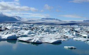 Glaciers in Arctic Region