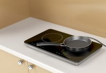 portable electric cooktop