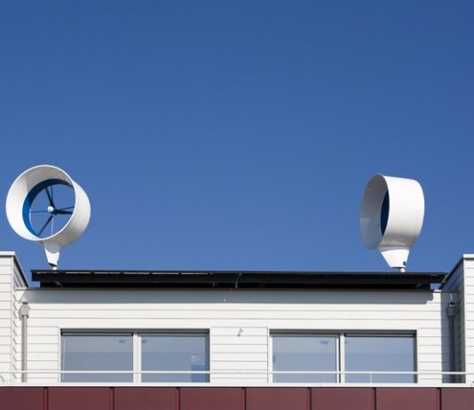 residential rooftop wind turbine