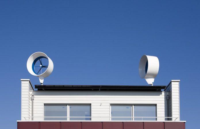 residential rooftop wind turbine