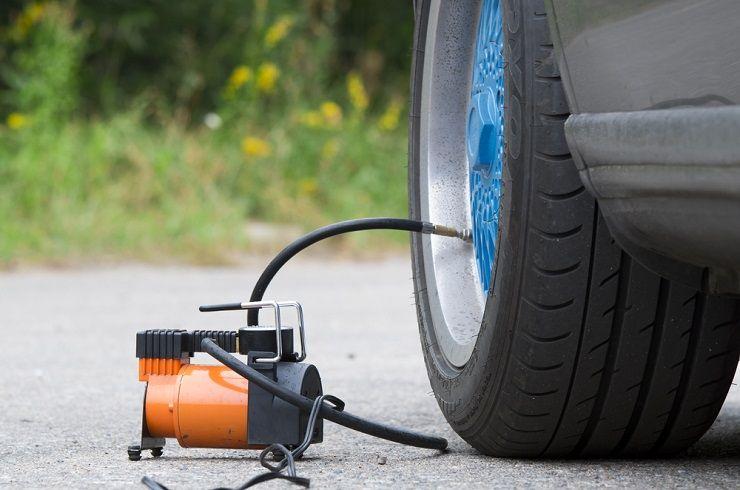 air compressor tire inflator attachment
