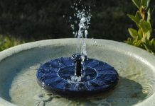 Best Solar Fountain BirdBath