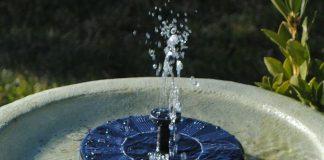 Best Solar Fountain BirdBath