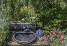 solar powered water fountain kit