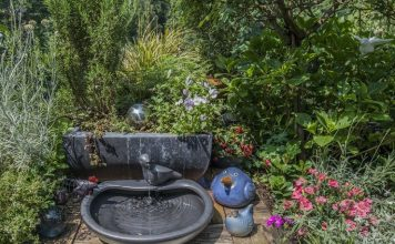solar powered water fountain kit