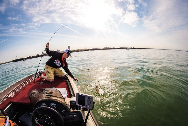 Helpful tips on bass fishing with a fly rod for Bass pro fishing line