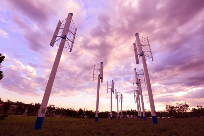 types of vertical wind turbine