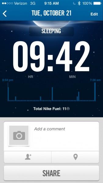 Sleep Tracking With Tracker