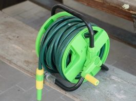 best hose reel cart with wheels