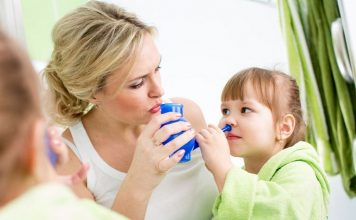 how to use a neti pot with a stuffy nose