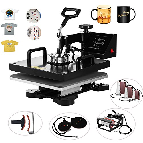 a49f53e6 Whether you are designing a t-shirt for your kids or making t-shirts that  your employees can wear at work, you'll find that the Vevor heat press is  up to ...