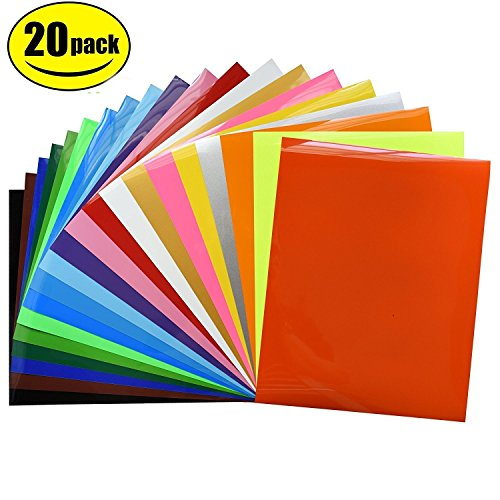 5bd99273 Perhaps, you may also want to try the Fame Crafts Heat Transfer Vinyl  Bundle which comes as a pack of twenty sheets in various popular colors.