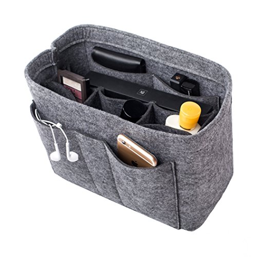 This Organizer Will Keep All Your Belongings To Gether And Easy Find The Soft Wool Felt Material Adds A Level Of Sophistication Purse