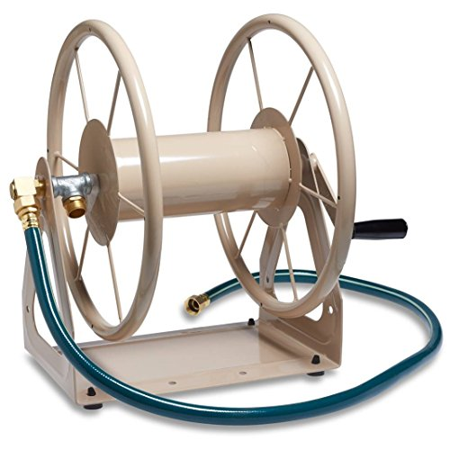 The Liberty Garden Hose Reel Which Is Made Of Tough Steel With Strength Has A 200 Foot 5 8 Capacity 13 Gauge Construction